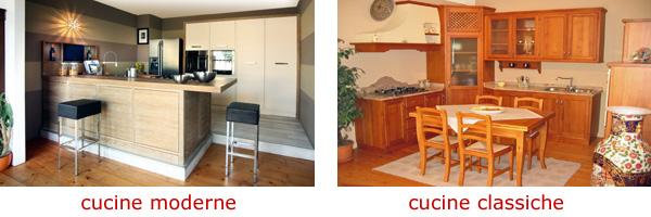 cucine su misura moderne e classiche